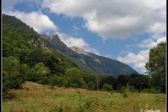 Поглед от Рилски манастир
